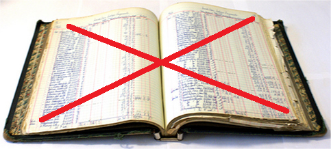 Fin du livre comptable papier