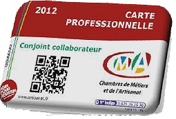 carte de conjoint collaborateur